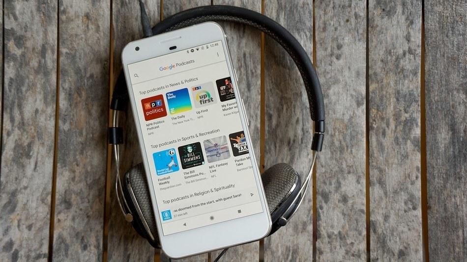 Les podcasts référencés sur le moteur de recherche Google