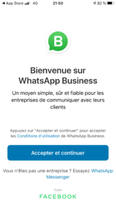 WhatsApp Business Jacky Lacherest 001