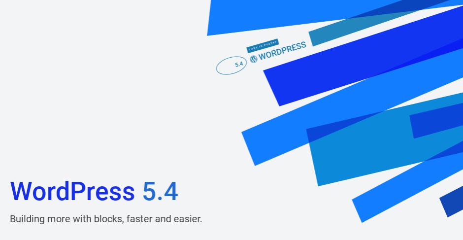 Jacky Lacherest WordPress 5.4 nouvelle version