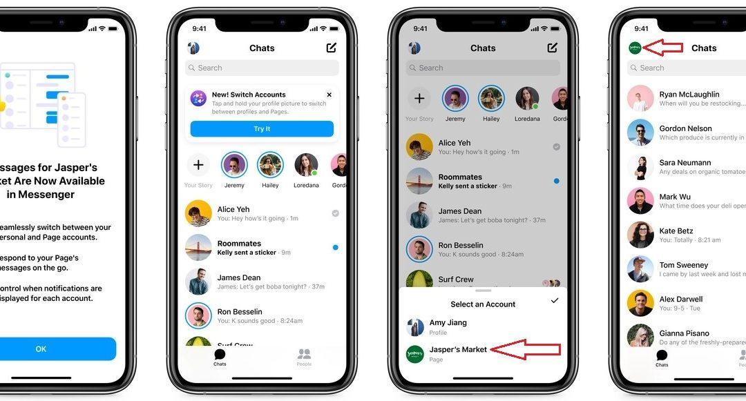 Facebook Messenger crée une boîte de réception pour les Pros