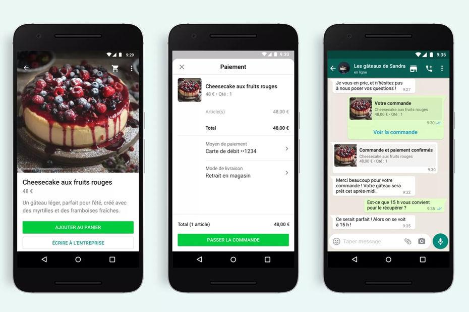 WhatsApp : Facebook lance 3 nouvelles fonctionnalités
